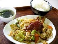 岩見沢SAラム肉辛味噌定食700円.jpg