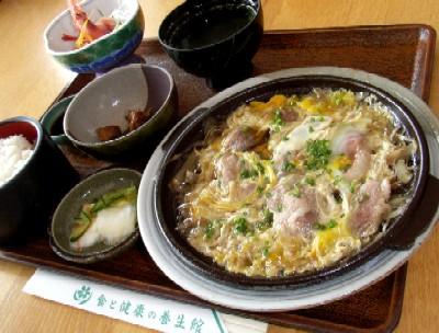 2006.1220昼食滝川ふれ愛の里こすもす合鴨柳川風定食1250円.jpg