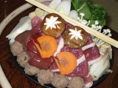 2009.0224鴨料理専門店あたらし鴨すき焼き鍋IMG_0275.jpg