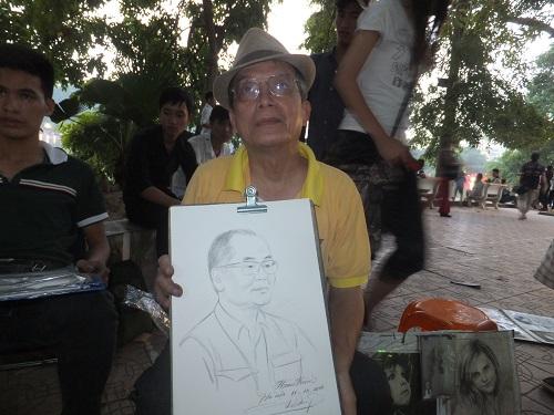 2014.1011ベトナムで似顔絵2 DSCF2160