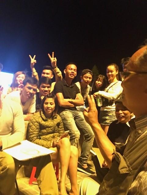2017.0921ベトナムサパで似顔絵1IMG_3767