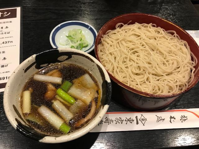 2018.0402東屋寿楽の鴨せいろIMG_6366